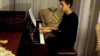 Russian Folk Song - Dark Eyes (Piano)