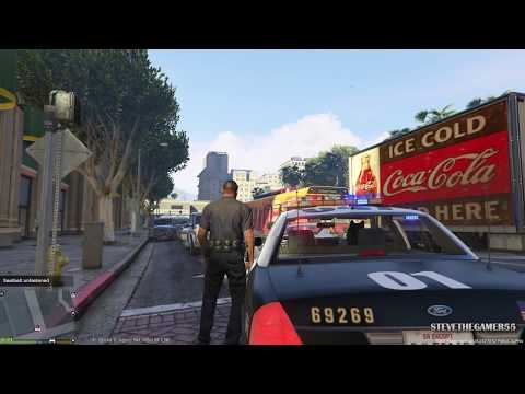 GTA 5 - LSPDFR - EPiSODE 53 - LET'S BE COPS - K9 PATROL (GTA 5 PC POLICE MODS) SUICIDE ATTEMPT