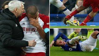 Salomon Rondon in tears after breaking Everton star James McCarthy leg - News 247