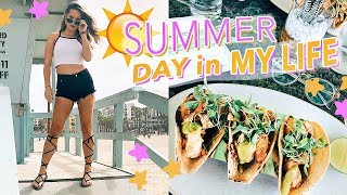 SUMMER DAY IN MY LIFE! Fitness Routine, Acting Class & Dairy-Free Gluten-Free Grocery Haul!