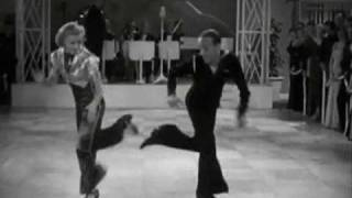 "Ginger Rogers, Jimmy Dorsey Orch. ""LET YOURSELF GO"" (1936)"