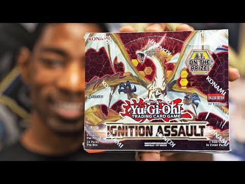 Yu-Gi-Oh! 1ST IGNITION ASSAULT Booster Box Opening!