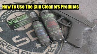 How To Use The Gun Cleaners Product!!