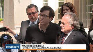 'Pharma Bro' Martin Shkreli Reacts to Fraud Conviction