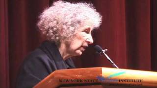 Margaret Atwood at the NYS Writers Institute in 2005