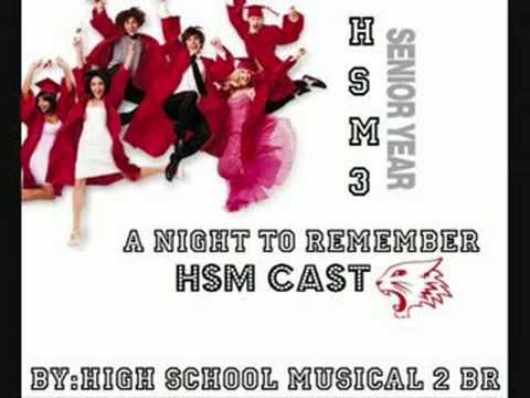 High School Musical 3  A Night To Remember Song