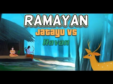 Ramayan - Jatayu Vs Ravan