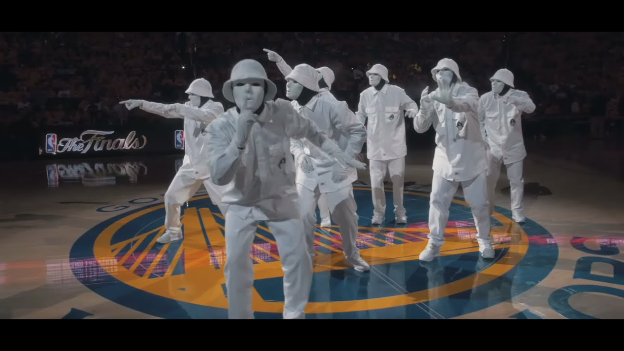 JABBAWOCKEEZ at NBA Finals 2016 - YouTube