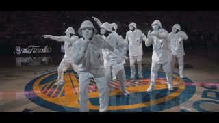 Video JABBAWOCKEEZ at NBA Finals 2016 download MP3, 3GP, MP4, WEBM, AVI, FLV Juli 2018