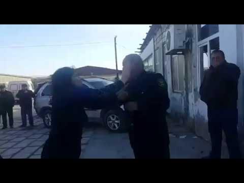 Şahbaz Şahbazovun Həyat Yoldaşı Arzu Polis Zabitinə Qarşı Fiziki Zor Tətbiq Etdi