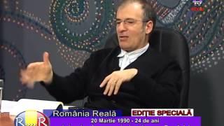Generalul Chelaru  la  6 TV. Romania reala  2014 03 20.  Partea 2 Nr 4