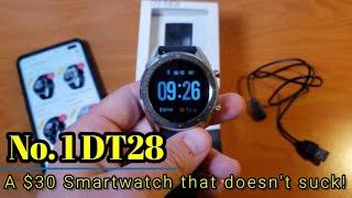Номер 1 DT28 - за 30 $smartwatch, який не смоктати!