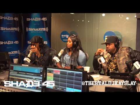 Dj Kayslay interviews RZA & Mathematics on Shade45 10/11/17