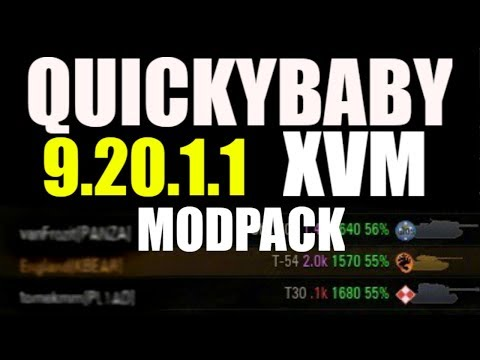 World of Tanks | Quickybaby's Modpack 9.20.1.1 working for SEA link below
