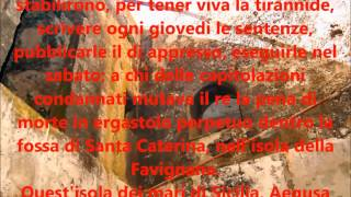 Il lager borbonico di Favignana  nelle memorie di Colletta