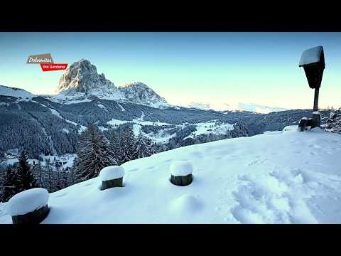 Val Gardena winter 2018