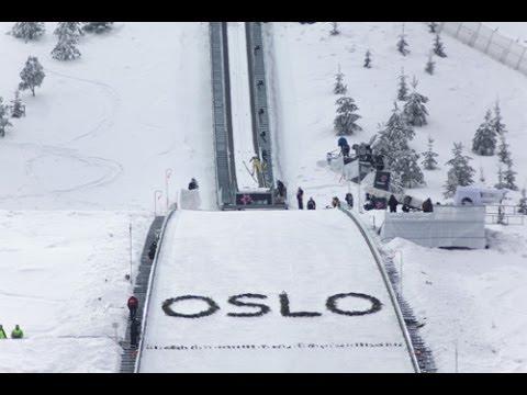 Holmenkollen Ski Jump - Oslo Norway