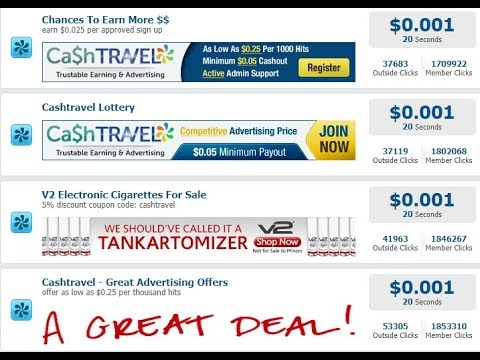 Earn money $10 per day! easy ads view transfer to paypal