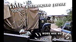 Kilimanjaro Safari WITH POACHERS at Animal Kingdom - Disney World 1999