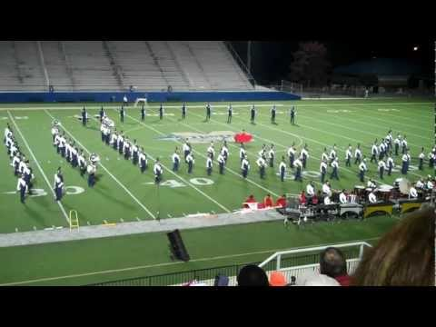 Wheeler High School Marching Band 10/24/2011