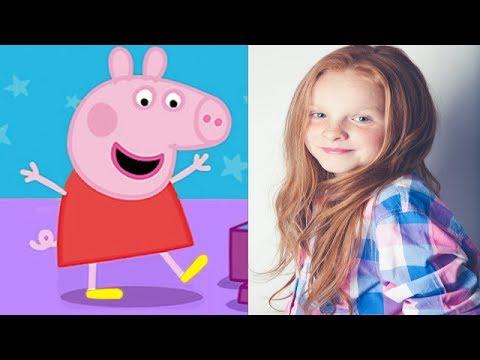 Peppa Pig  Voice Actors!