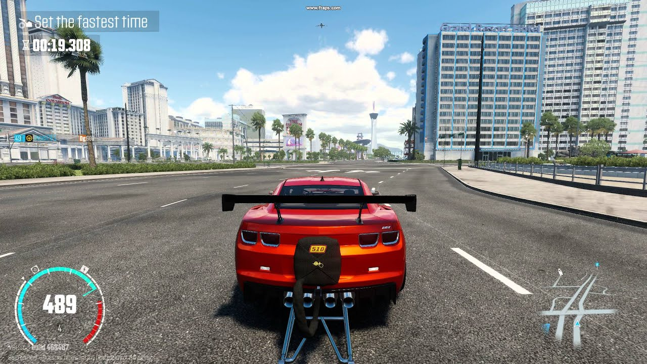 The crew WR  BETA  drag racing  mad developers