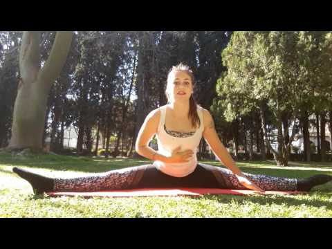 Ejercicios de flexibilidad Kristel