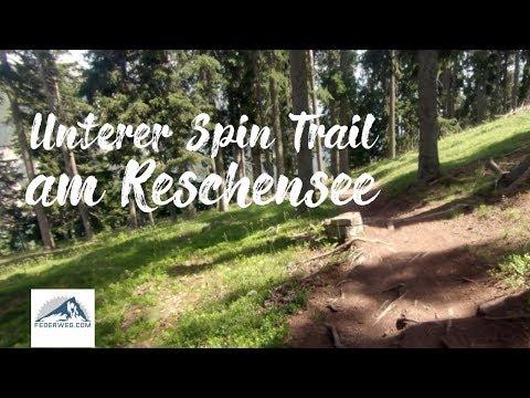 Unterer Spin Trail (Nr. 95) - 3 Länder Enduro Trails am Reschenpass