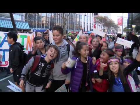 WATCH: Māori Language Week 2016 - Ākina te Reo Parade