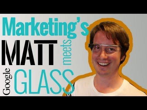 Marketing Magazine tries Google Glass