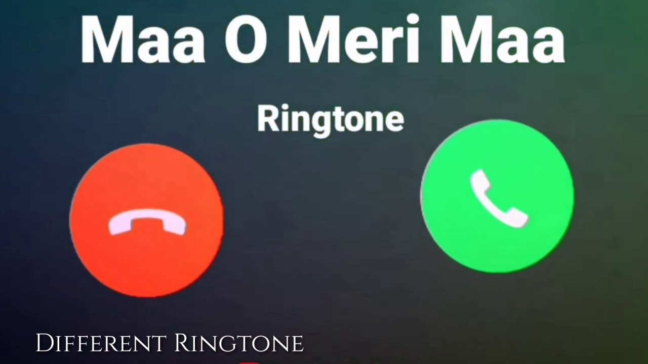 Mother Special Ringtone Call Ringtone Maa O Meri Maa Youtube