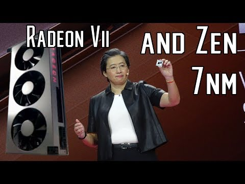 World's First 7nm GPU and 7nm Ryzen confirmed at AMD's CES 2019 keynote