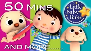 Mia Had A Little Dog | Plus Lots More Nursery Rhymes | 50 Minutes Compilation from LittleBabyBum!