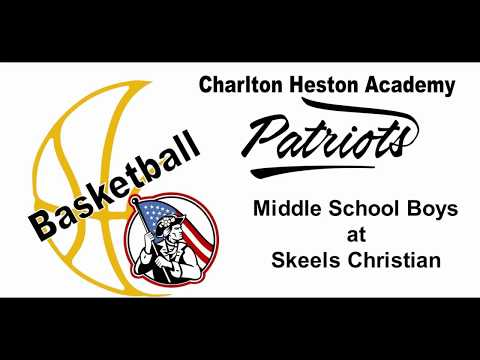 CHA Patriot Basketball - Middle School Boys at Skeels Christian School