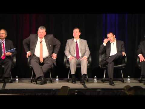 ARC Forum 2015 Day 2 Executive Panel: Peter Holicki, Gregory Touhill, Peter Herweck, Chet Mroz