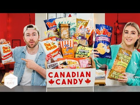 British People Trying Canadian Candy - This With Them