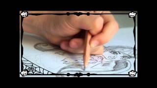 Рисуем Дракулауру / Draculaura Урок рисования Monster High(Надеюсь вам понравилось мое 2-е видео, Теперь с моим участием.), 2014-02-21T07:41:25.000Z)