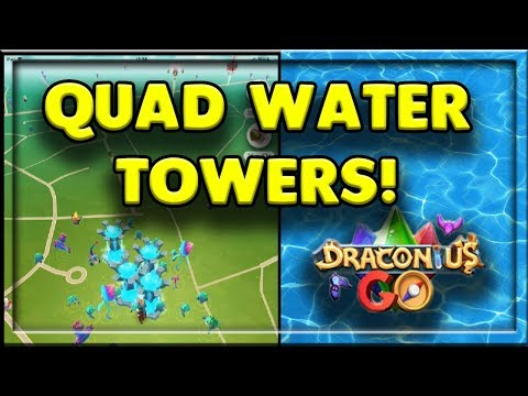 QUADRUPLE WATER TOWERS - CAN WE CATCH ANYTHING GOOD? - DRACONIUS GO