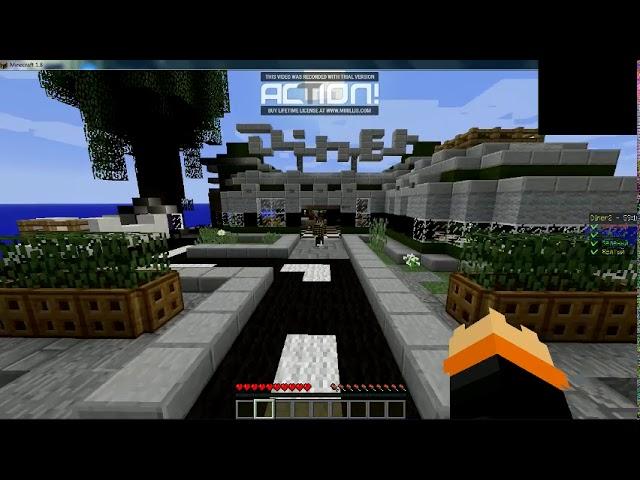 играю на сервере sannycraft в бед варс и 1 катка в skywars
