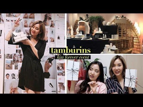 Tamburins Launching Event In Garosugil + Sleepover With Erin