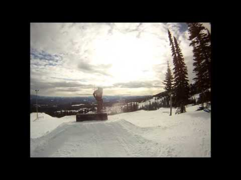 Telus Park Black Tube Jib Sesh Travel Video