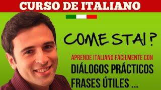 Curso de Italiano 1 Aprender Italiano - Frases en Italiano: Hola, como estas? (Reducida)