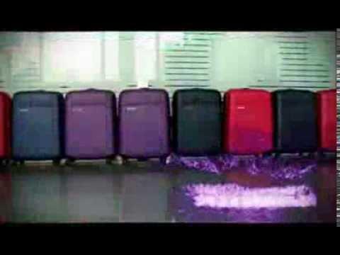 Супер чемодан! Невероятный тест на прочность чемодана Carlton Titanium DLX.