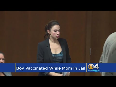 Jailed Mom 'Devastated' That Her Son Was Vaccinated While She Was Behind Bars