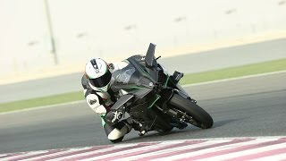 Kawasaki Ninja H2 and H2R review | Track test