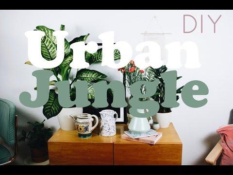Urban Jungle DIY - Zuhause nachhaltig grüner & frühligshaft machen #slowliving