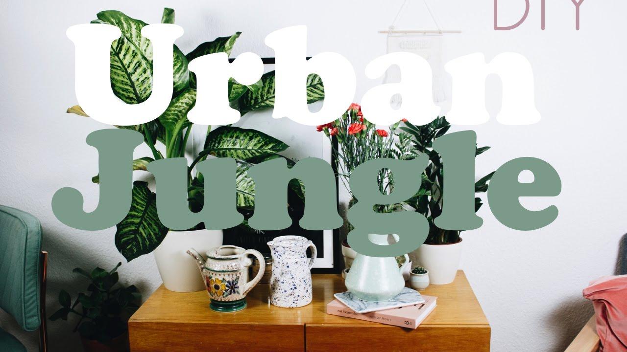Urban Jungle DIY - Zuhause nachhaltig grüner & frühligshaft machen ...