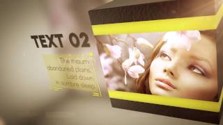 Box and Squares After Effects Template VideoHive