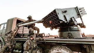 NATO Forces Carry Out Artillery Training