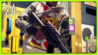 NEW 3D PRINTER GUNS | Watch Dogs 2 Free Roam